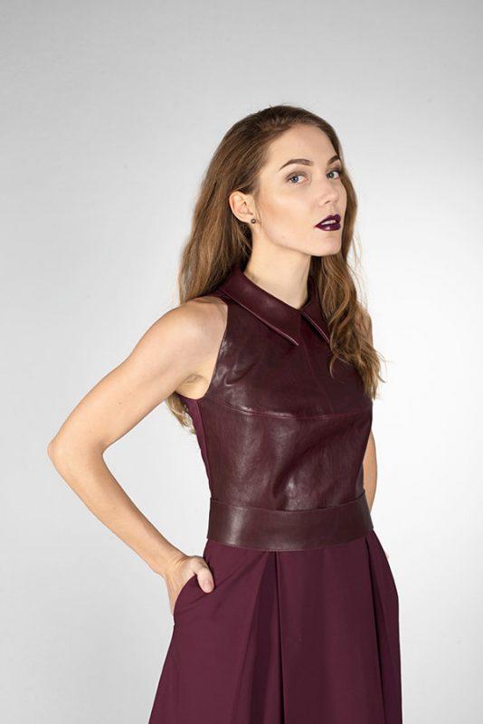 Платье коктейльное Brown