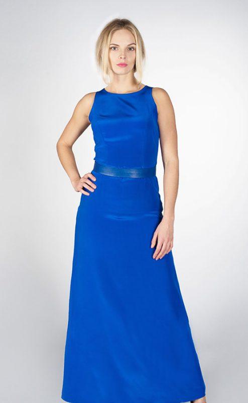 Платье коктейльное Blue - Юлия Древа