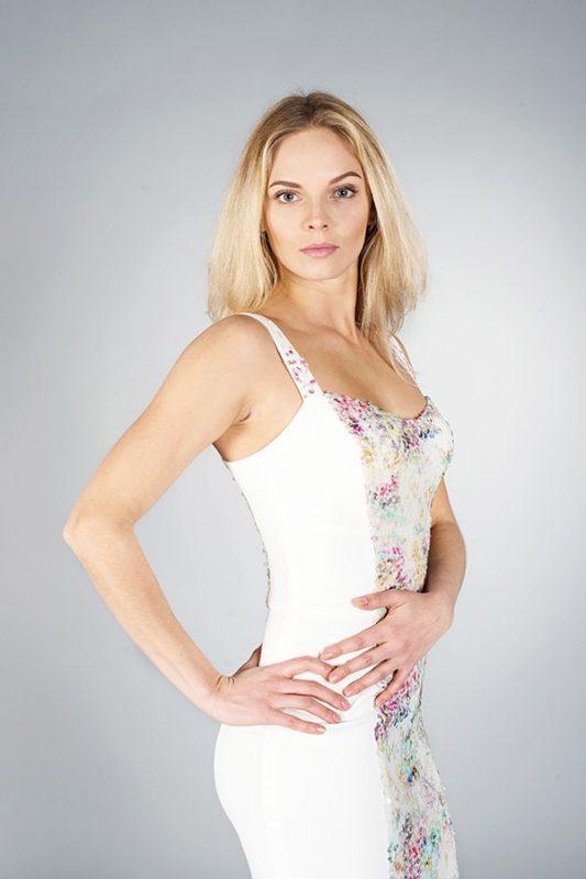Платье футляр White- Julia Dreva