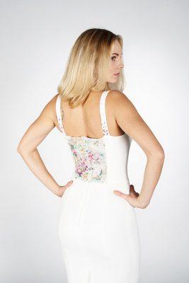 Платье футляр White - Julia Dreva